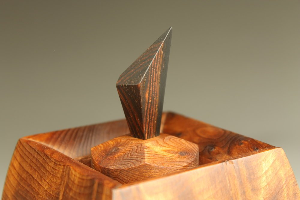 close up heirloom treasure box, tryptych