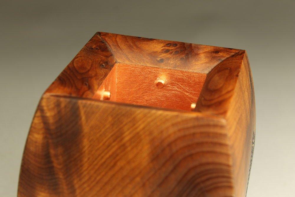 bottom, heirloom treasure box, tryptych box