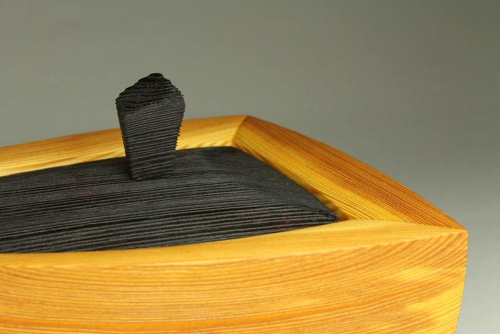 close up, heirloom treasure box, triad box