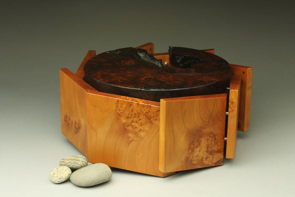 heirloom treasure box, octagon box